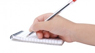 How you write could reveal if you are developing Parkinson's disease. Image via Shutterstock.com