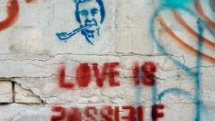 Check out Israel's graffiti for an unconventional tour of Israel. Photo by Nicky Blackburn.