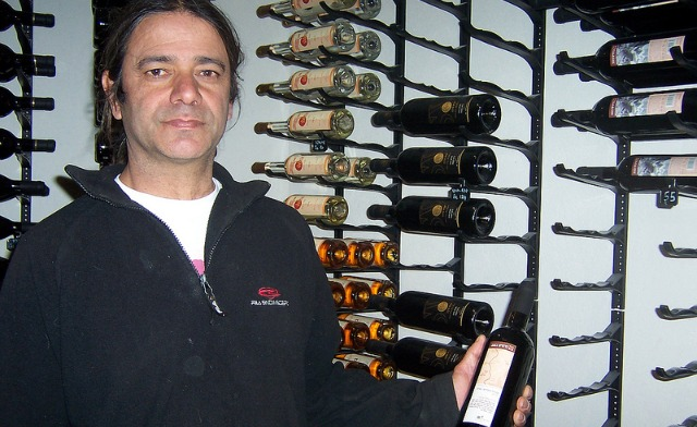 Moshe Zohar offers tastings of wines made in the Negev.