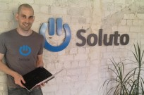 Tomer Dvir, CEO of Soluto. A whiz kid who just sold his company for $100 million to Asurion.
