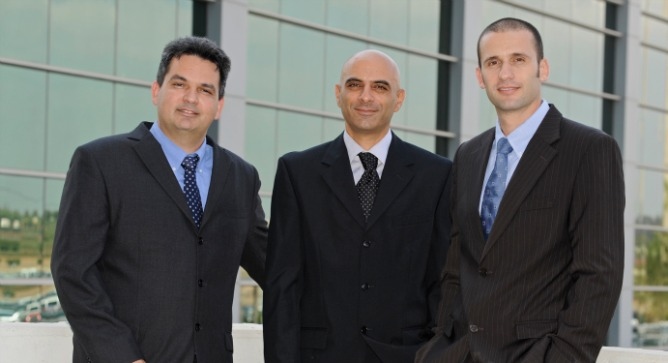 Altair leaders, from left, Yigal Bitran, CTO; Oded Melamed, CEO; and Eran Eshed, VP marketing and business development.