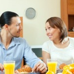 If you have trouble conceiving because of PCOS, try eating a heartier breakfast. Image via Shutterstock.com