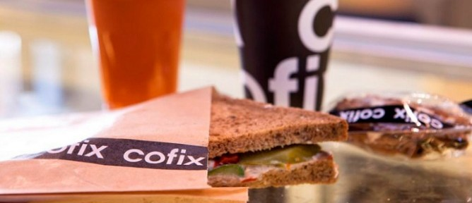 Nothing at Cofix costs more than five shekels.