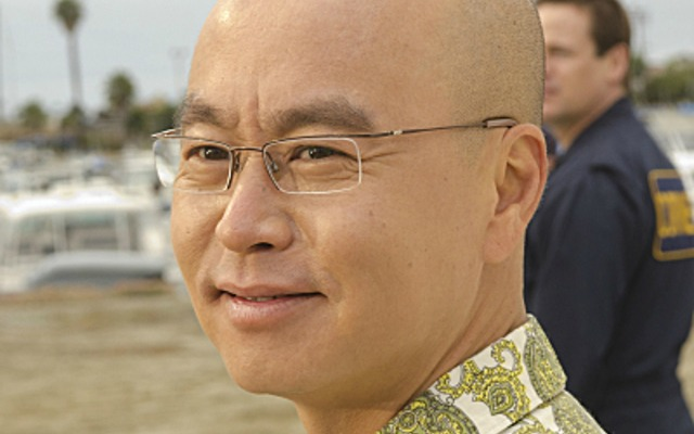 C.S. Lee, aka Vincent Masuka from Dexter. Photo courtesy of CBS Broadcasting
