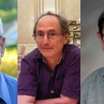 From left to right, Nobel Prize winners Arieh Warshel, Michael Levitt, and Martin Karplus.