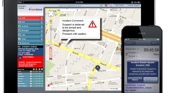 NowForce turns your smartphone into an emergency call center.