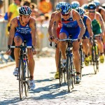 Triathletes can endure more pain, say Israeli researchers. This was photo taken during the Mens ITU World Triathlon Series event in Sweden. (Shutterstock)
