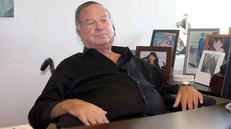Dov Lautman, Israeli industrialist, philanthropist and Israeli Prize laureate, seen at his office in Tel Aviv on October 28, 2010. Lautman died after a long struggle with ALS. (Gideon Markowicz/Flash90)