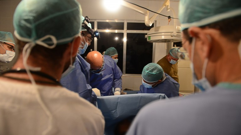 A 148-team of IDF medical experts is in the heart of the disaster zone, ready to save lives.  (IDF Spokesperson's Unit)