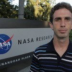 Erez Livneh at NASA's Ames Research Base. Photo by Matt Rutherford.