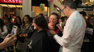 Zichron Menachem hair donation.