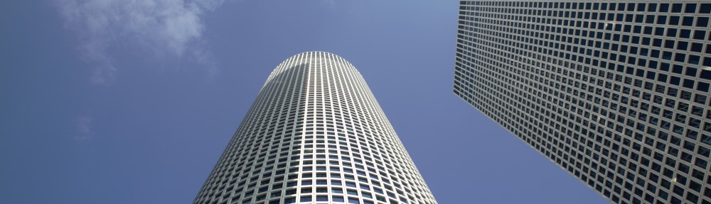 Israelis will pitch a startup idea in an elevator ride up the Azrieli Towers in a bid to win $100,000 in investment money. (Shutterstock)