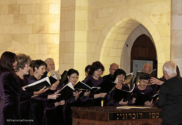 A Christmas Concert at Christ Church, Jerusalem. Photo by Sasha Gefen