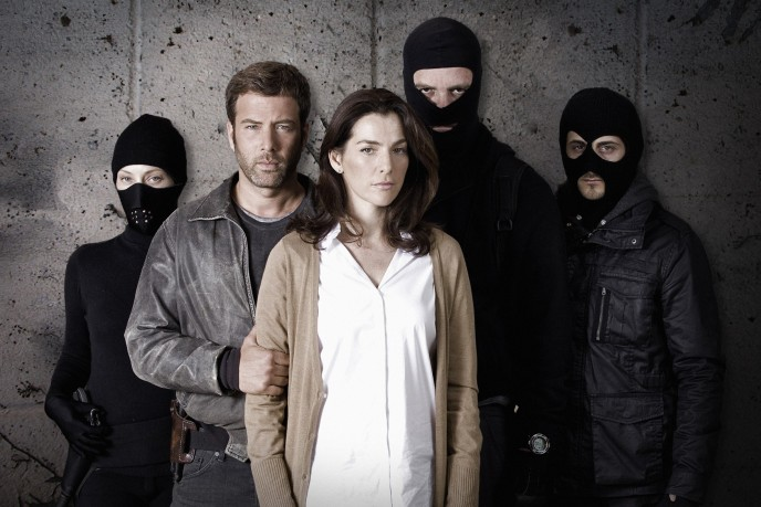 Ayelet Zurer and Yair Lotan take the lead roles in the Israeli television thriller 'Hostages.' (Armoza Formats)