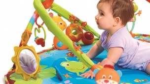 Tiny Love's award-winning Gymini playmat made the Israeli toy company famous across the globe. (Tiny Love)