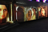 Sound and light show at the Mary of Nazareth International Center. Photo courtesy of the Tourism Ministry