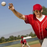Baseball pitchers are prone to rotator cuff tears. Image via Shutterstock.com