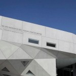 The new Herta and Paul Amir Building of the Tel Aviv Museum of Art. Photo by Flash90.