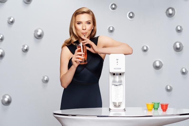 Scarlett Johansson is SodaStream's Global Brand Ambassador. (PRNewsFoto/SodaStream International Ltd.)