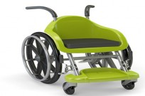 Wheelchairs of Hope, meant especially for children, are meant to look like a fun toy. Photo: courtesy