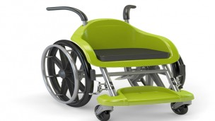 This wheelchair is meant to look like a cool toy.
