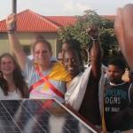 Yosef Abramowitz in Rwanda last year, championing solar energy.