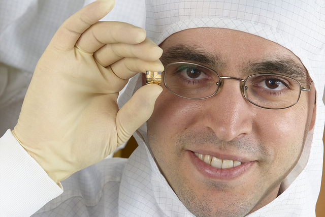 Haick's main area of expertise is nanotechnology.