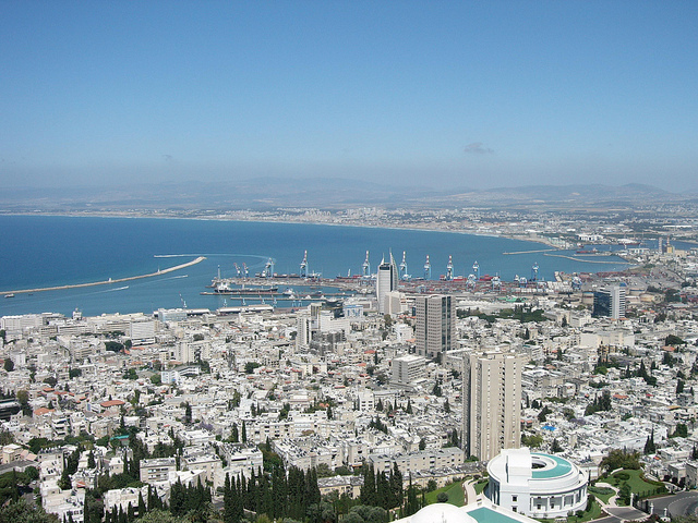 View of Haifa Bay. Photo by Uria Ashkenazy