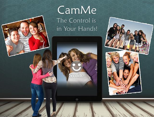 CamMe: a better way to shoot a selfie.