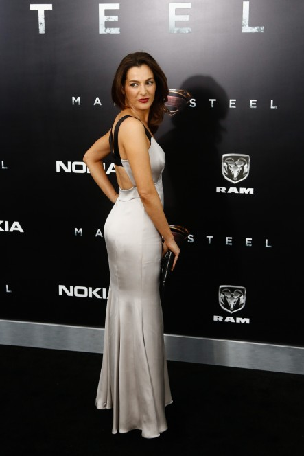 "Actress Ayelet Zurer attends the world premiere of ""Man of Steel"" in New York, 2013. (Shutterstock)"