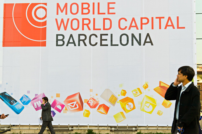 The Mobile World Congress is the world's largest exhibition for the mobile industry.  (Shutterstock)