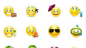 Emoticon image via Shutterstock.com