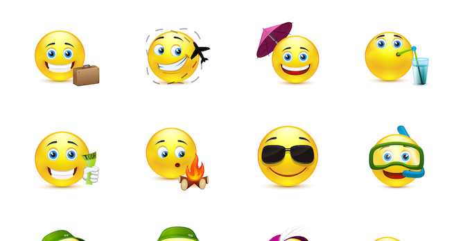 Emoticon image via Shutterstock.com