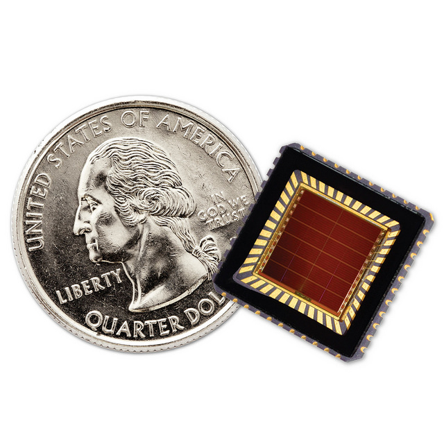Sol Chip's invention is coin-sized.
