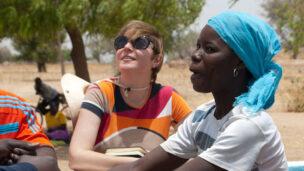 Ornit Avidar, center, is bringing Israeli water-tech to Africa