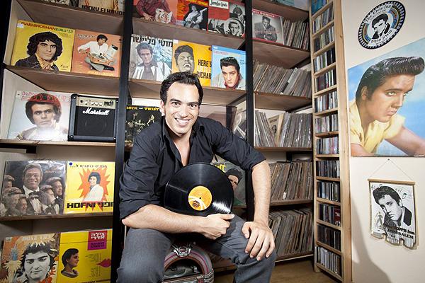Dudi Patimer-israeli-music-collector