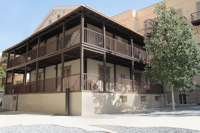 Maskit House in Tel Aviv's German Colony.