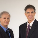 Plastic surgeon Jacky Govrin, left, and his brother, biomedical engineer Dael Govreen-Segal.