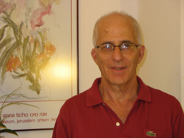 Avraham Israeli, president of Israel's Water Association.