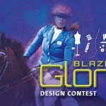 Poster for the Blaze of Glory design contest.