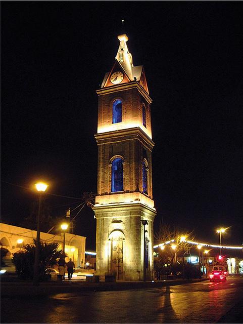 Jaffa's Clock Tower.