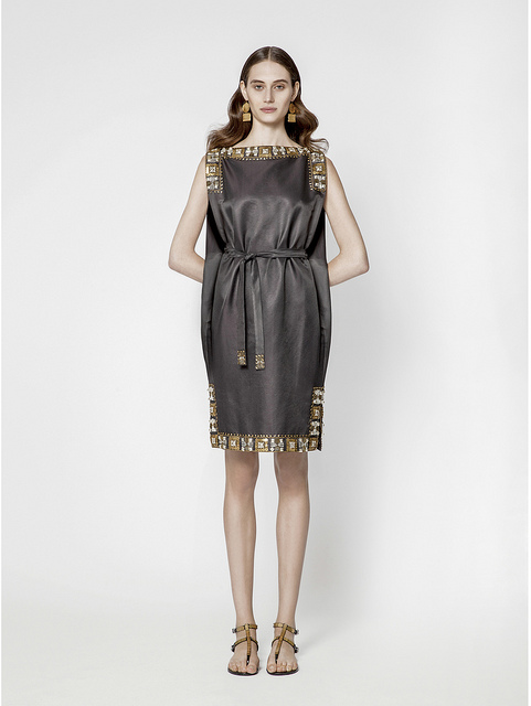 The Toga was popular in Maskit's original line and in the new line as well.