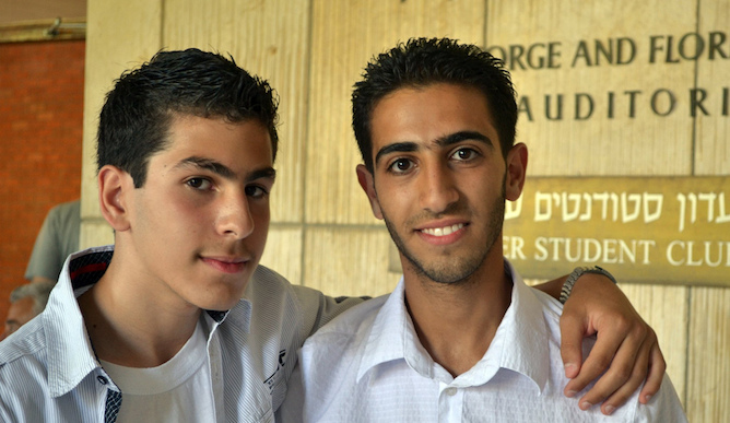 MEET alumni Zakaria Wari and Sadek Jabr.