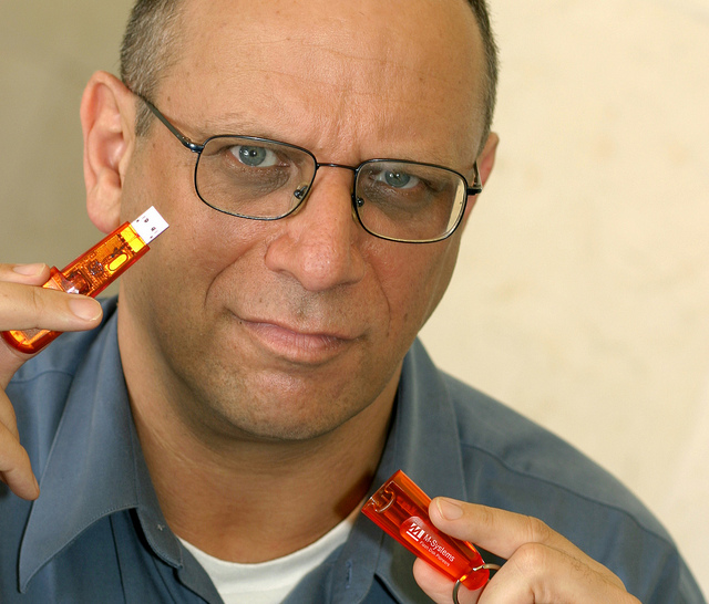 DiskOnKey inventor Dov Moran is also a serial entrepreneur.