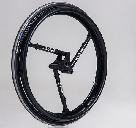 SoftWheel has a revolutionary suspension system.