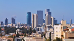 Tel Aviv has become the capital of high-tech in Israel. Image via Shutterstock.com