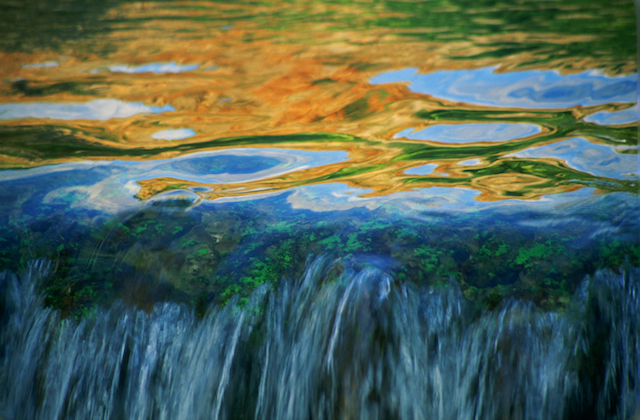 Colors of the Banias. Photo by Doron Horowitz/Flash90