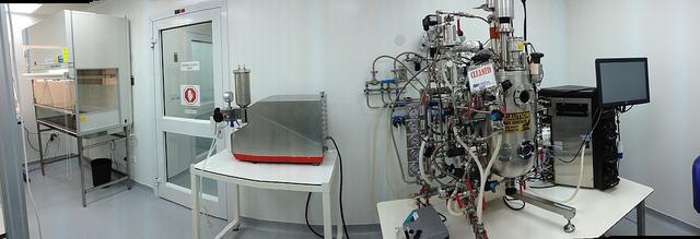 The Biondvax production room.