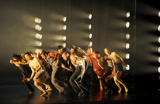 The Hofesh Shechter Dance Company. Photo by Gabriele Zucca
