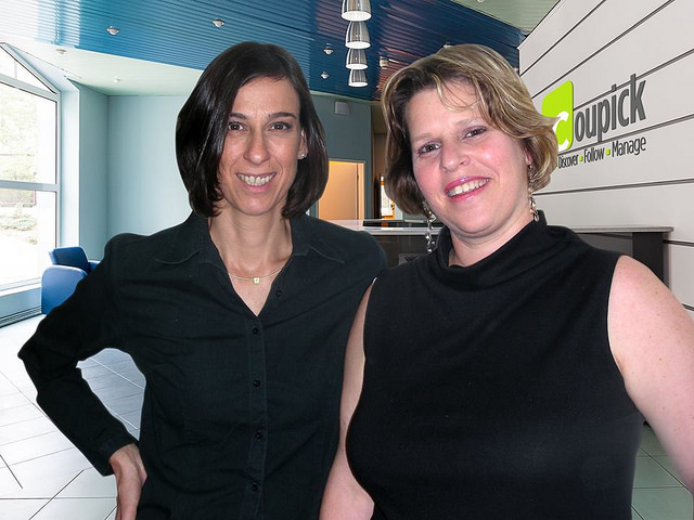 Coupick cofounders Maya Holtzer, left, and Sharon Solomon.
